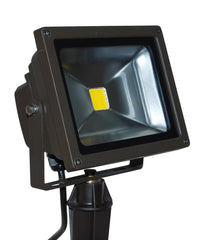 50w Rectangular LED Flood light LED-FL-50 by Lightcraft Outdoor with stake