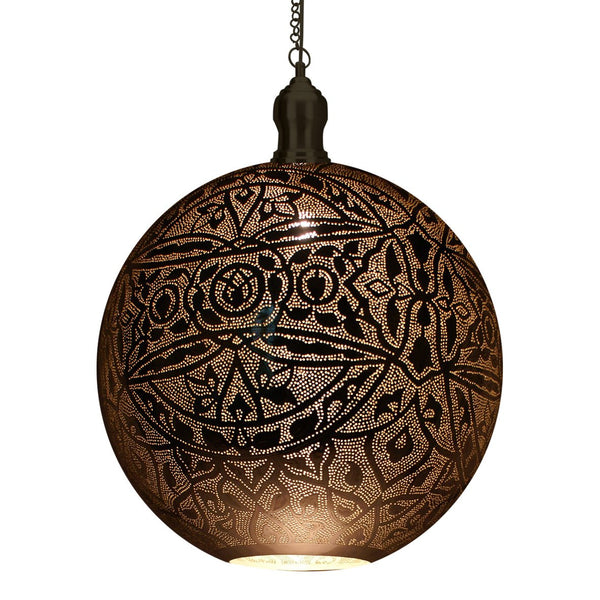 MAJAL PENDANT LIGHT 66CM a Pendant by ASWAN INTERNATIONAL - Lumigado lighting
