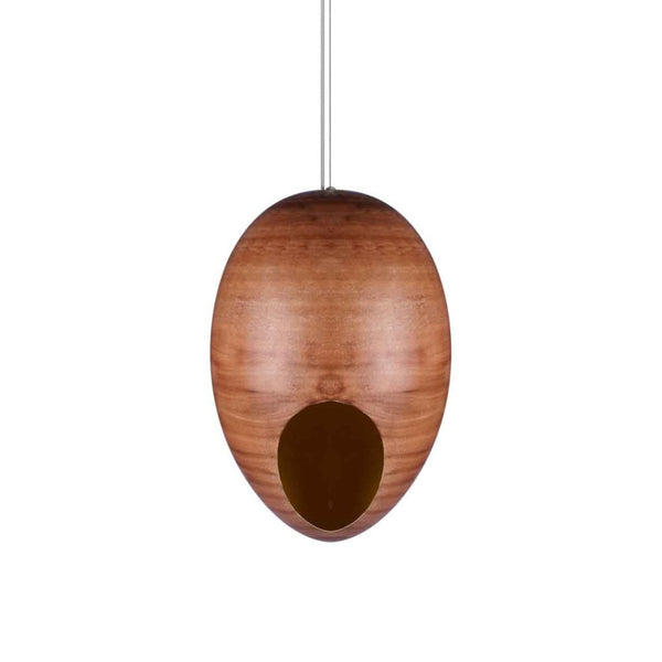 Nora wooden pendant lamp a Pendant by ASWAN INTERNATIONAL - Lumigado lighting