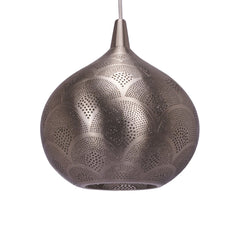TT PADDLE PENDANT LIGHT MATT NICKEL 37CM