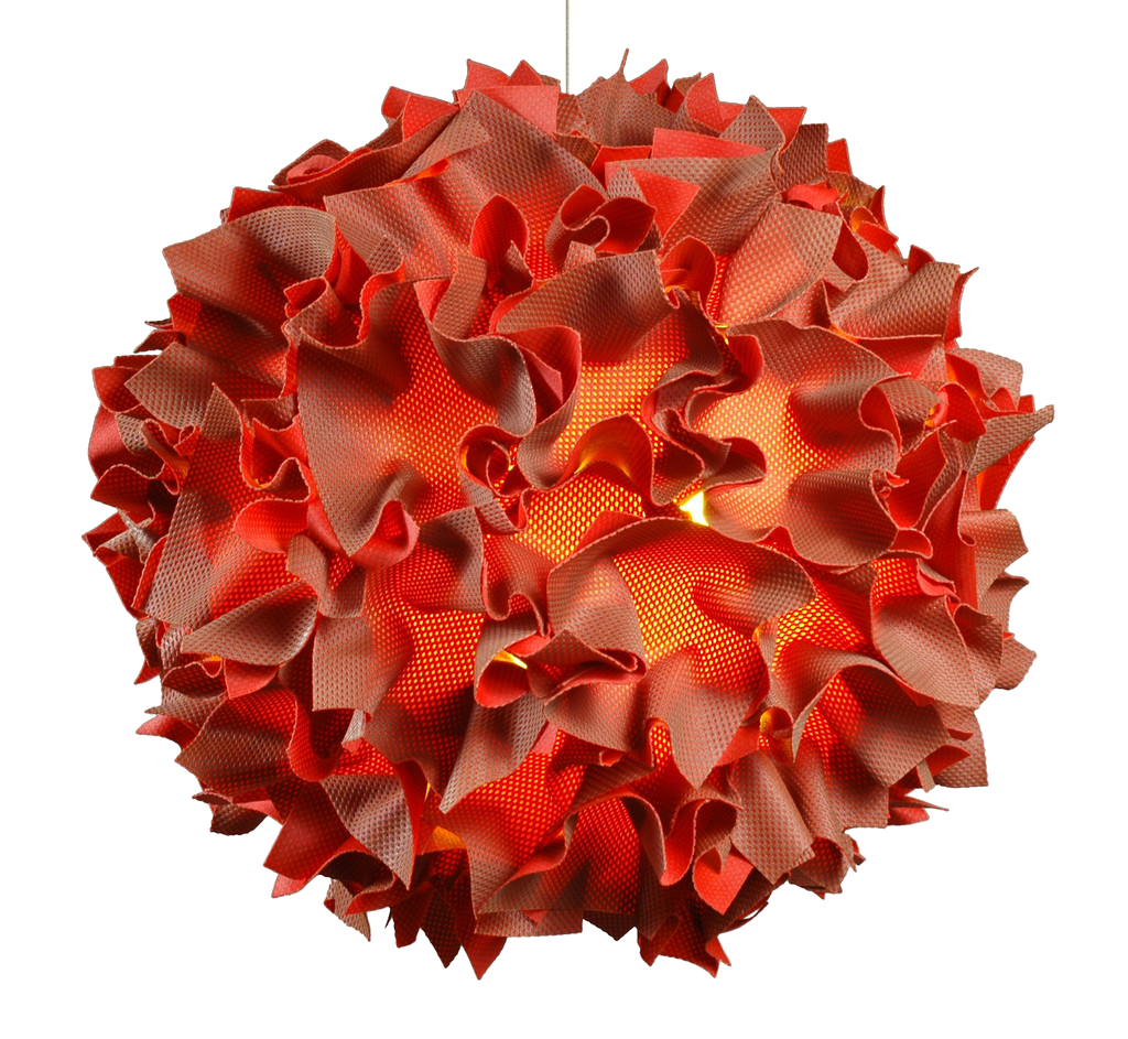 Puff Orange pendant by Josh Urso design