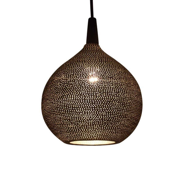 Safi globe pendant plain pattern - small