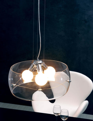 Asteroids pendant by Zuo modern application clear version