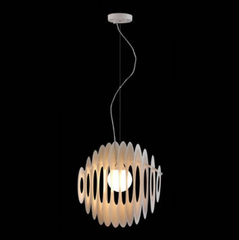Intergalactic pendant by Zuo Modern Lighting side