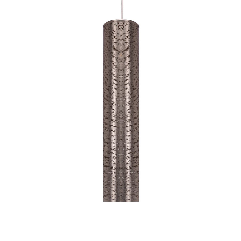 TUBE PENDANT LIGHT BRIGHT BRASS 56CM