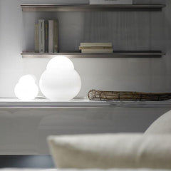 Daruma table lamp by Sergio Asti for FontanaArte application