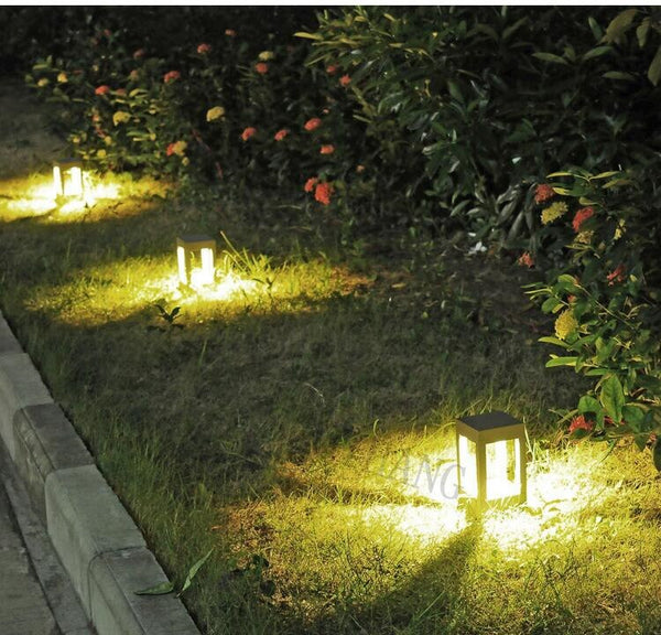 6 PCS Skive Garden LED post lamps