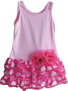 Isobella & Chloe Tiny Dancer Dress #7807PK (4-10)