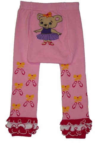 Snow Baby Legging Ballerina Bear (3m-3yrs)