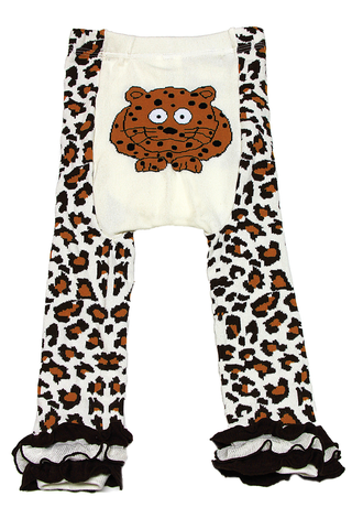 Snow Baby Legging Little Leopard (Nb-3yrs)