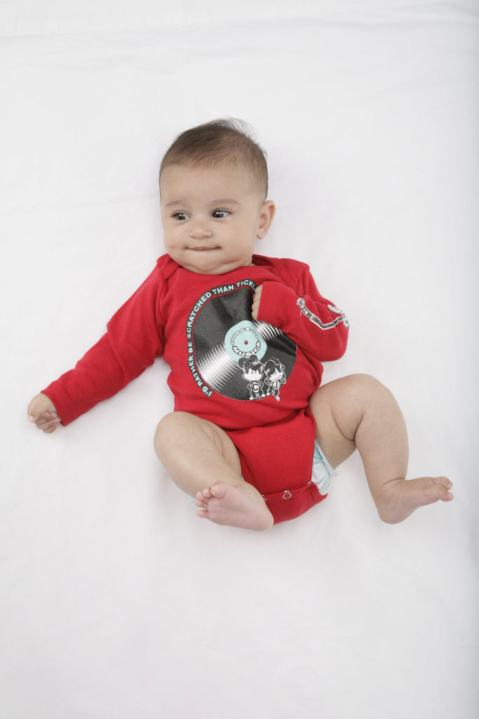 Cookie & Joe Musica Turntable Onesie (3-24m)