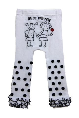Snow Baby Legging Best Friends (Nb-3yrs)
