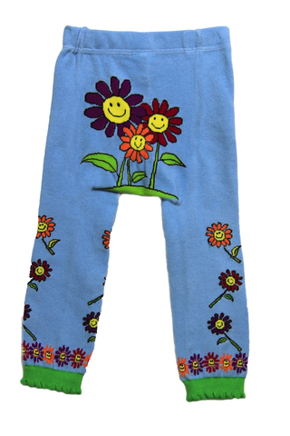 Snow Baby Legging Happy Flowers (Nb-3yrs)