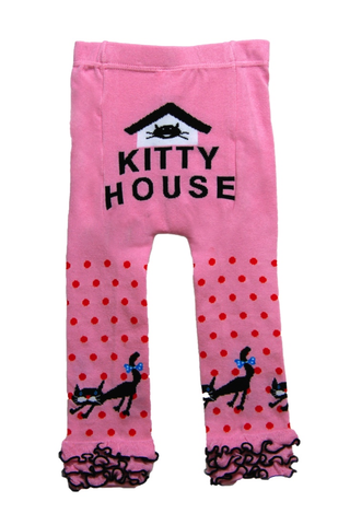 Snow Baby Legging Kitty House (Nb-3yrs)