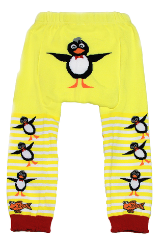 Snow Baby Legging Perky Penguins (Nb-3yrs)