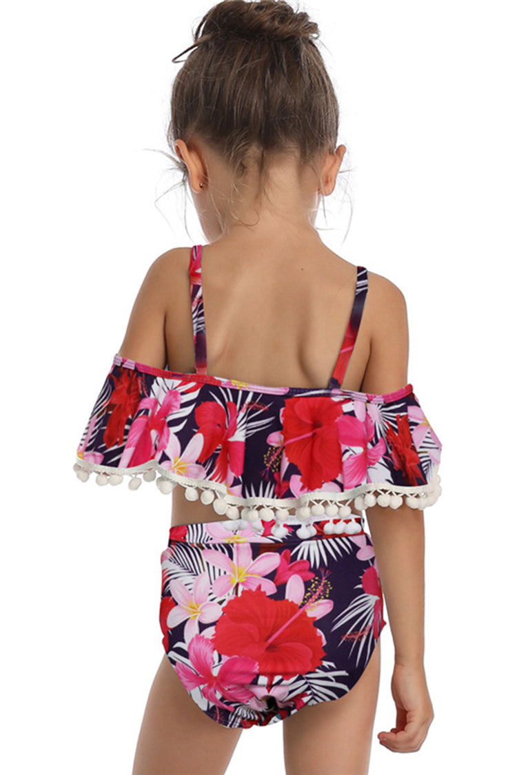 Kids Printed Two Pieces Swimsuit