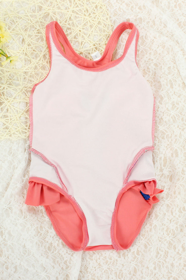 Kids Flamingo Swan One-piece Swimsuit