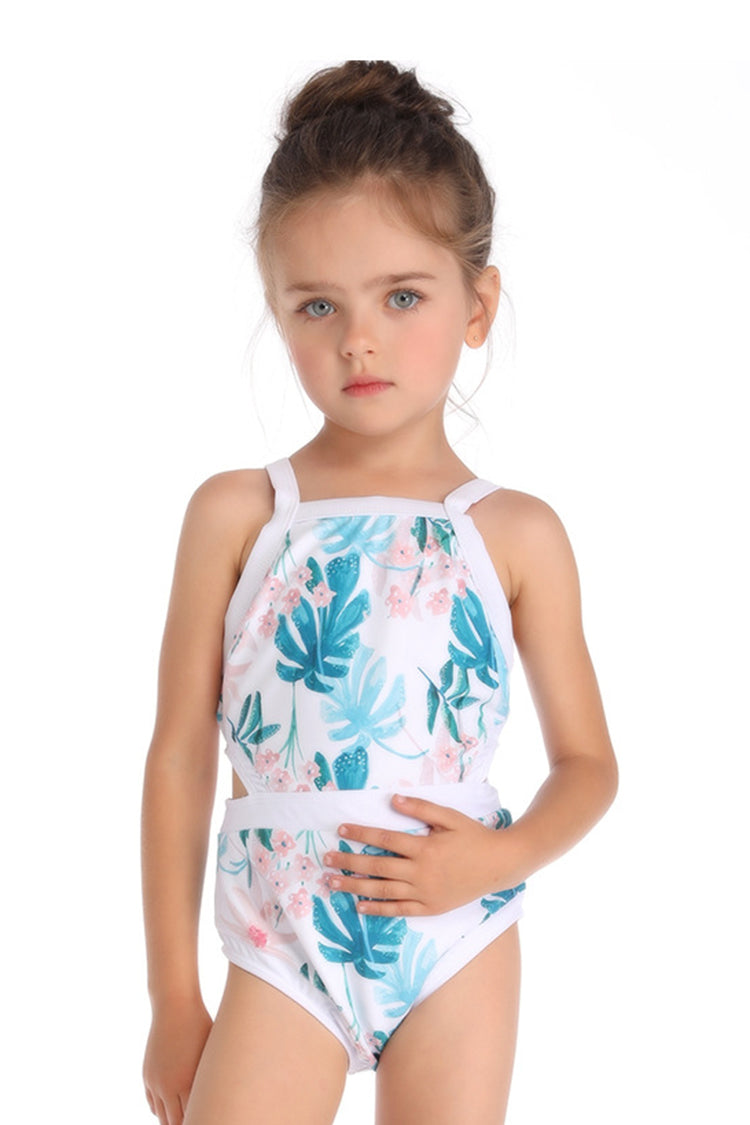 Kids Printed One-piece Swimsuit