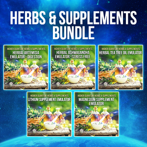 Herbs and Supplements Bundle