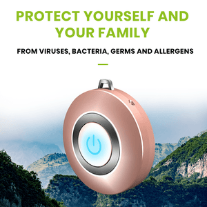USB Portable Wearable Air Purifier Negative Ion Air Freshener Necklace