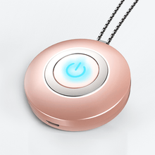Load image into Gallery viewer, USB Portable Wearable Air Purifier Negative Ion Air Freshener Necklace