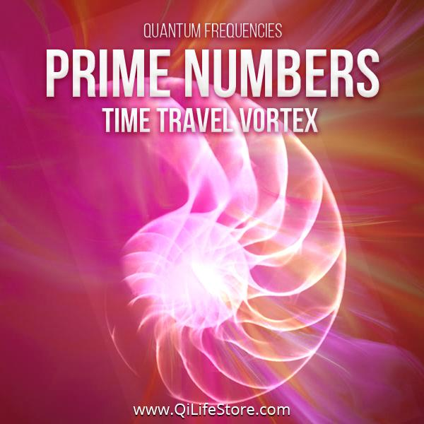 Prime Numbers Time Travel Vortex