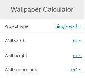 Image link to removable wallpaper calculator