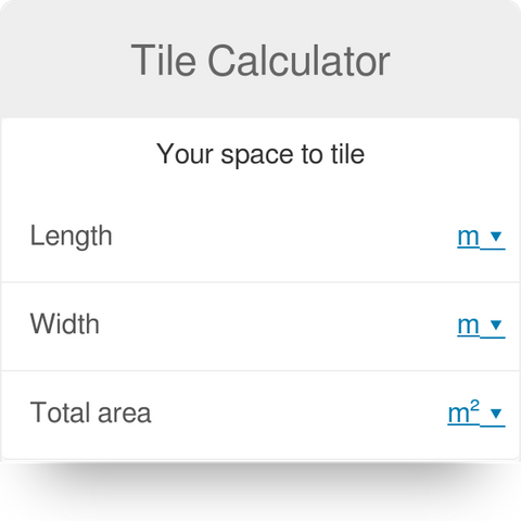 Image link to peel and stick tile calculator