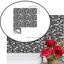 Load image into Gallery viewer, Mosaic Self Adhesive Tile Sticker