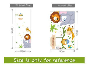 Jungle Animal Children's Decals