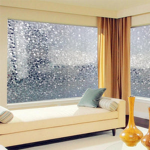 Cobblestone Privacy Window Film