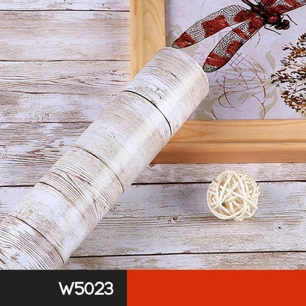 Wood Grain Effect Removable Wallpaper