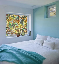 Load image into Gallery viewer, Magnolia Stained Glass Effect Privacy Window Film
