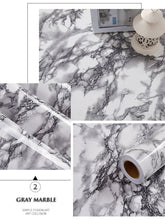 Load image into Gallery viewer, Marble Effect Removable Wallpaper