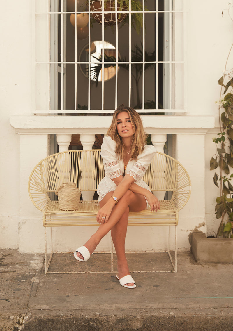 Jessie James Decker Key Largo White