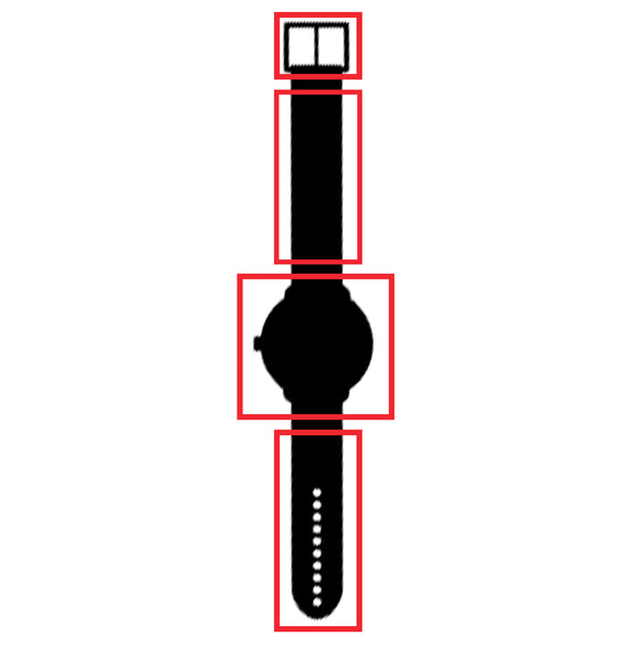 This is the symbol for watch protective film sheets.Keep your watch safe with these static sheets.