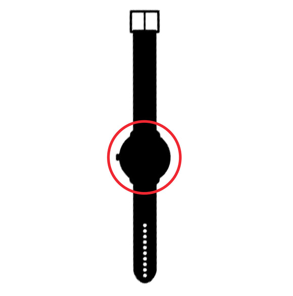 This is a symbol for watch dial protective disks.