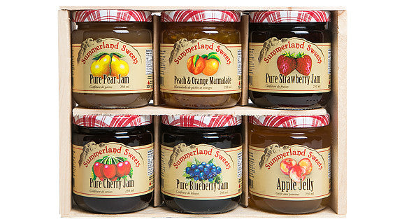 Gift Package #10: 6 - 250 ml Jams