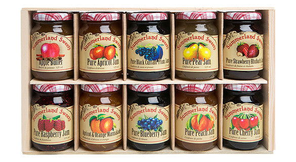 Gift Package #19: 10 - 125 ml Jams