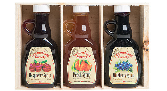 Gift Package #1: 3 - 125 ml Syrups