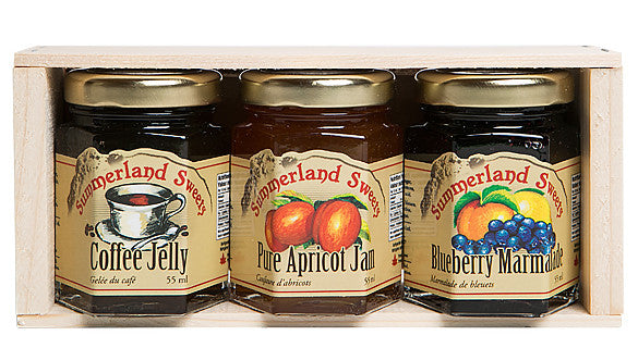 Gift Package #21: 3 - 55 ml Jams