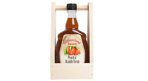 Gift Package #22L: 2 - 341 ml Brandy Syrups Crate