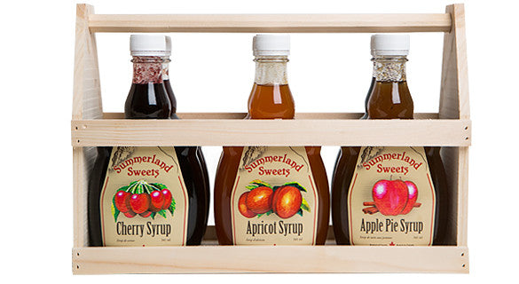 Gift Package #24: 6 - 341 ml Syrups Crate