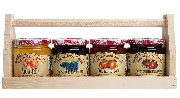 Gift Package #25: 4 - 250 ml Jams Crate