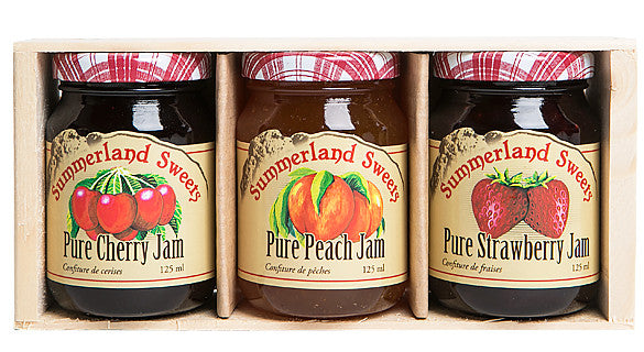 Gift Package #2: 3 - 125ml Jams
