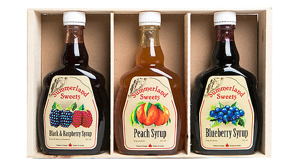 Gift Package #4: 3 - 341 ml Syrups