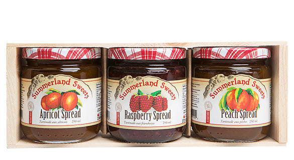 Gift Package #7A: 3 - 250 ml All Fruit Jams