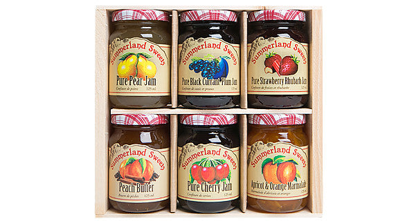 Gift Package #9: 6 - 125 ml Jams
