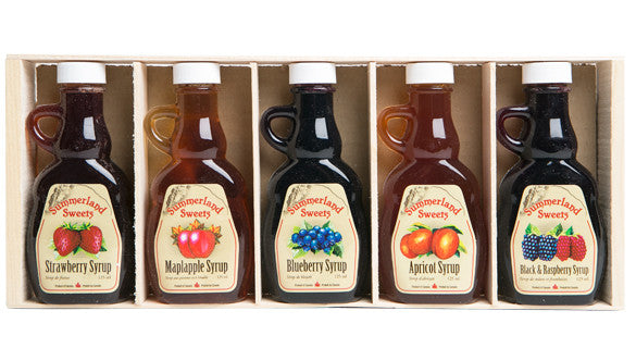 Gift Package #8: 5 - 125 ml Syrups