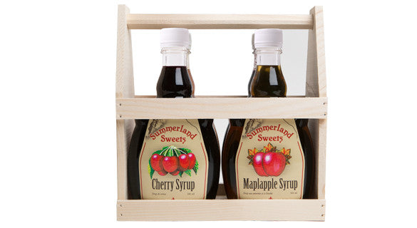 Gift Package #23: 4 - 341 ml Syrups Crate